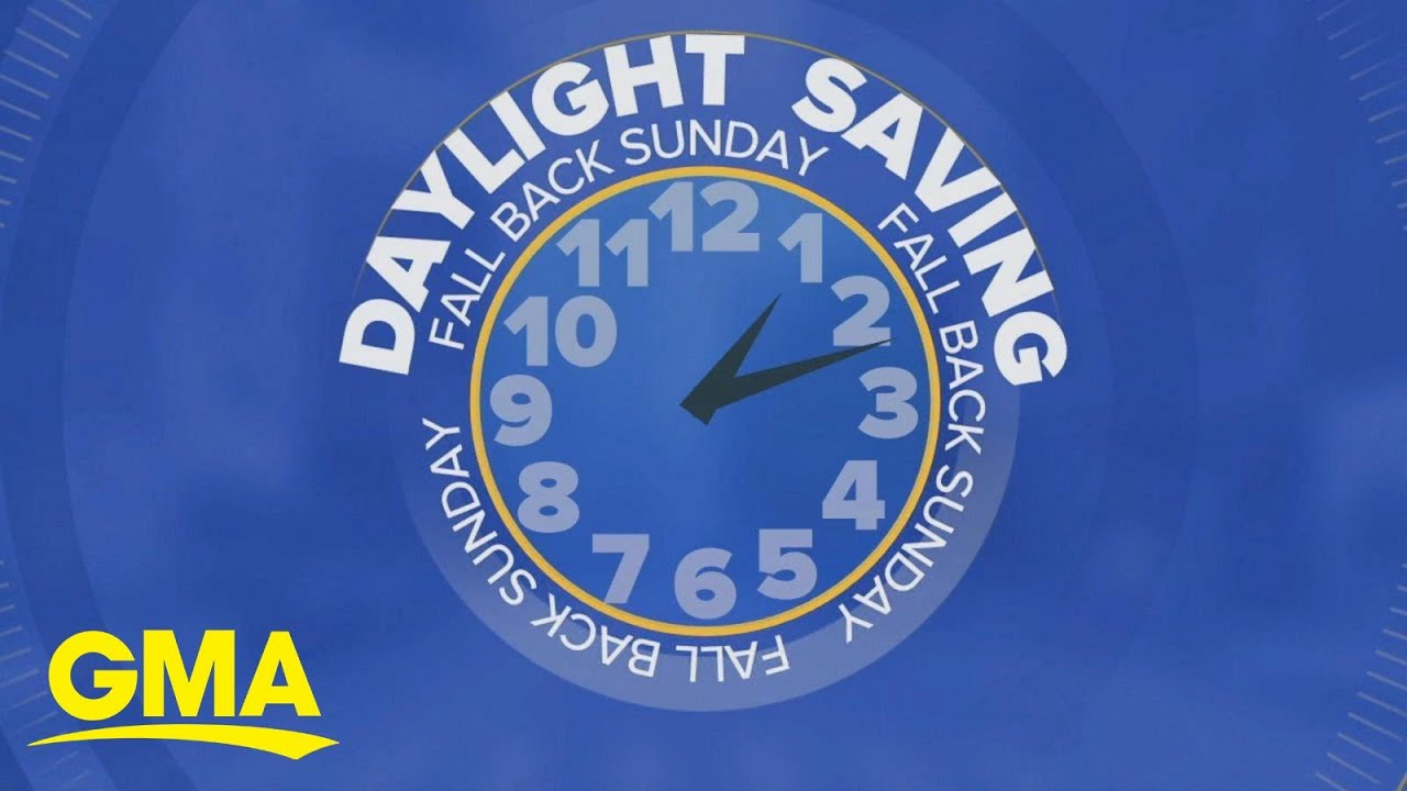 Time to Set Back Your Clocks, Daylight Savings Returns Sunday