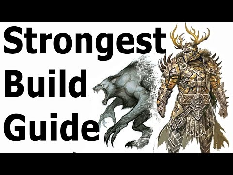 Skyrim: The Strongest Build Guide (Werewolf Class Setup)