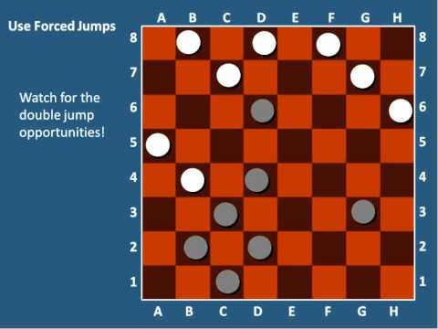 How to win in Checkers