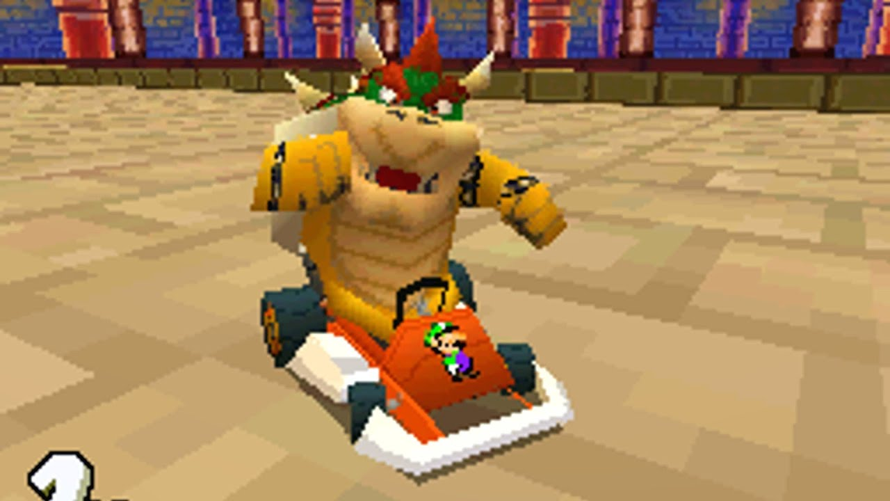 Mario Kart Ds Bowser Castle 2 Youtube