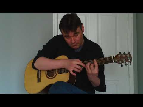 Dallas Sutherland- Drinking With The O'Sheas- Journey Instruments OF410 Guitar demo