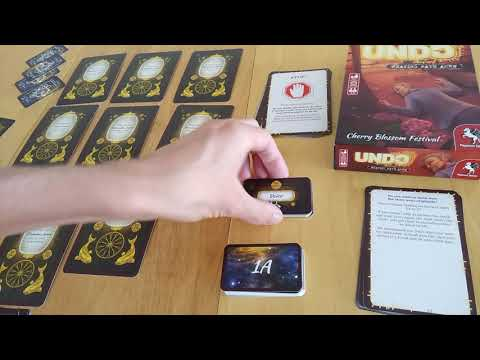 Undo Board Game - Spoiler Free How To Play And Review Part1