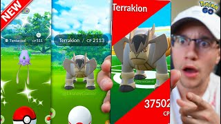 The FINAL UPDATES of 2019 - LEGENDARY TERRAKION, NEW SHINY, NEW EVENTS! (Pokémon GO)