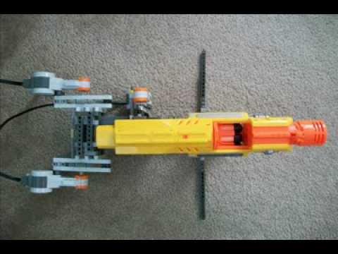 Creation: Lego Nerf Barricade Turret | NerfingTech