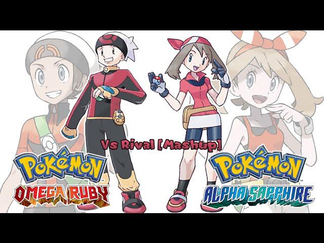 Pokemon OR/AS & R/S/E - Rival Battle Music [Mashup] HQ