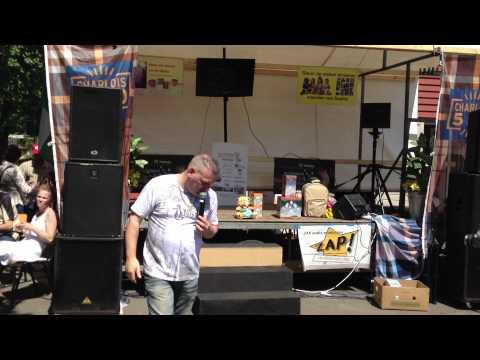 Christ Blenzo preview video via Iphone 4S 6e editie vtv zuiderhof dj hansie Rotterdam zo 27-05-05-12