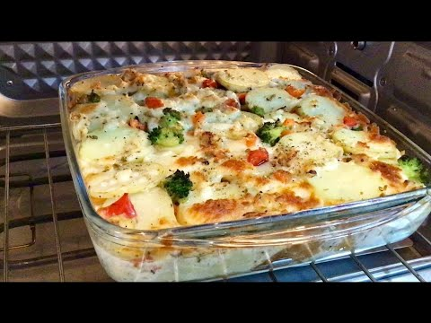 Savoury Bread Pudding || Vegetable Savoury Pudding