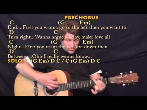 What Do You Mean? (Justin Bieber) Strum Guitar Cover Lesson with Chords/Lyrics