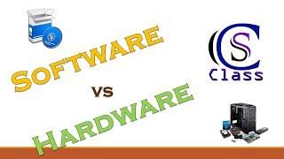 Hardware vs Software in Hindi #CS_Class