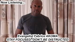 STAY FOCUSED ON THE LORD