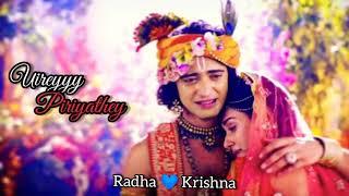 Vizhiye Kalangathey Uirey Piriyathey // Radha Krishna Forever ❤️❤️❤️