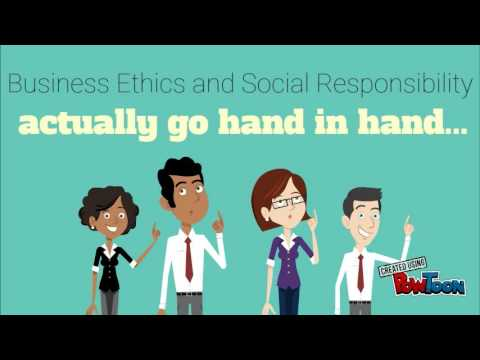 The Importance Of Business Ethics And Social Responsibility To