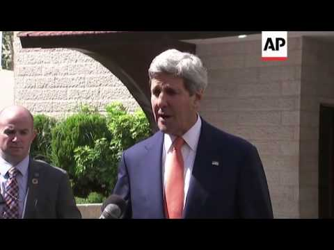 Kerry says Abbas is committed to ceasefire between Hamas and Israel