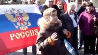 Парнишка зажигает! О возвращении Крыма домой