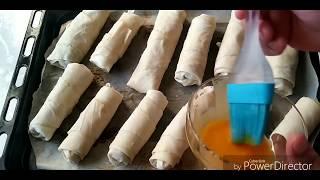 Yapımı Beş Dakika / Yiyenlerin El Açması Sandığı Sirkeli Unlu Çıtır Börek
