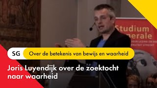 Joris Luyendijk - Zoeken naar waarheid
