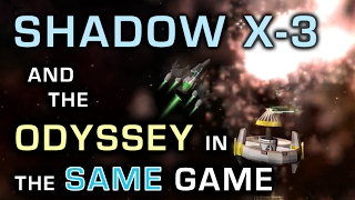 TWO Tier 7 ships at once! Shadow X-3 and Odyssey In the SAME GAME - Starblast.io