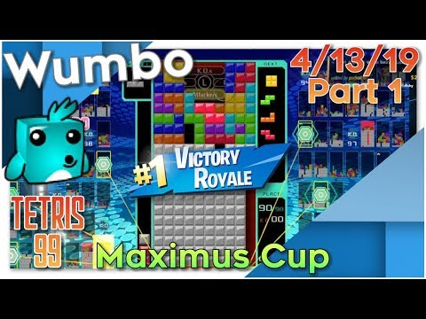 Maximus Cup 2 - Tetris 99 Win Streaks - 1440 Total Wins