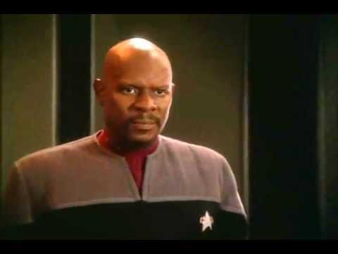 Sisko Intimidates Worf
