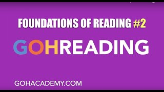 GOHREADING ~ #2 Foundations of Reading 090 MTEL Practice Test ~ GOHACADEMY.COM