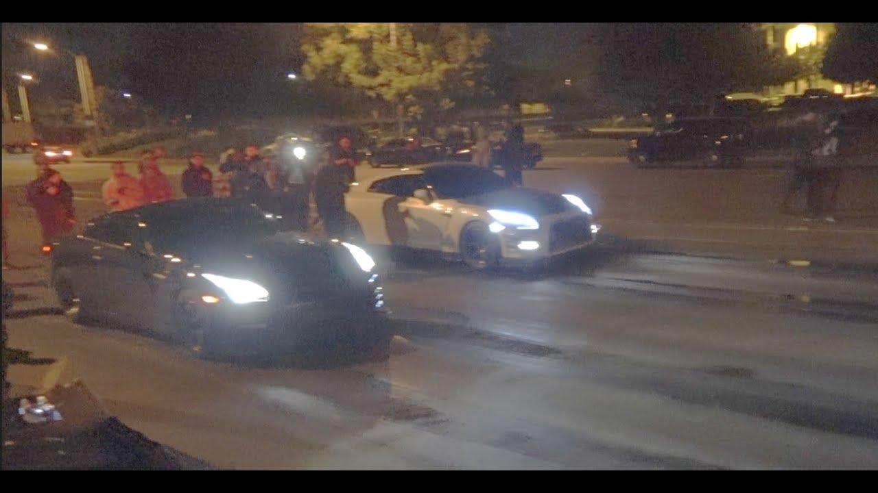 2 Nissan GTR's Street Racing $3,040