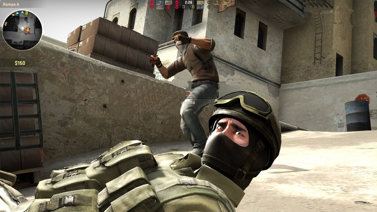 Counter Strike: Global Offensive - How To Suck - YouTube