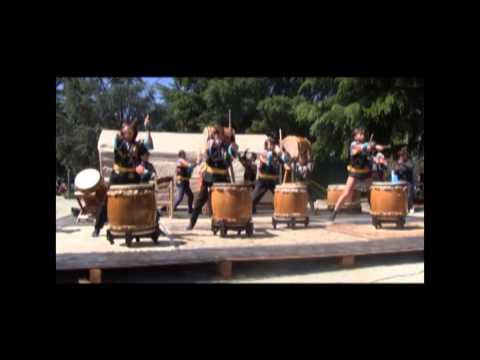 2013 Haru Matsuri (spring festival) in Morgan Hill -- Takio Drums
