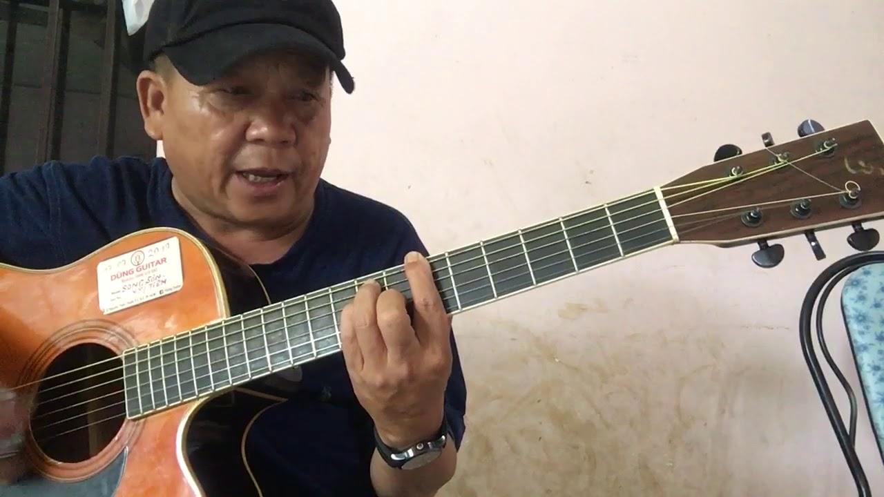 Hướng dẫn cách đánh đàn guitar thùng điệu bolero mộc rừng