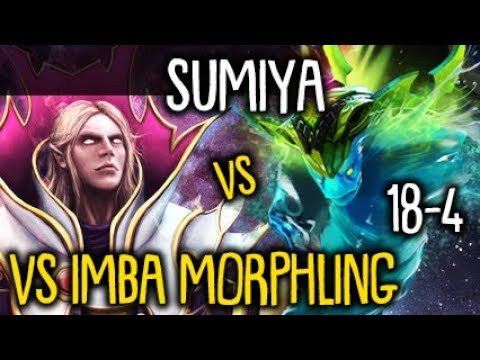 SumiYa Invoker God vs IMBA 7.07 Morphling Epic Combo Boss Do