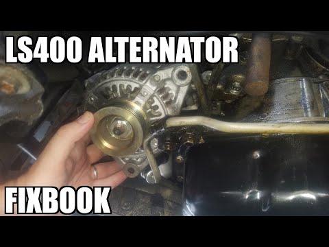 """Alternator 95-00 Lexus LS400 Replacement """"How to"""""""