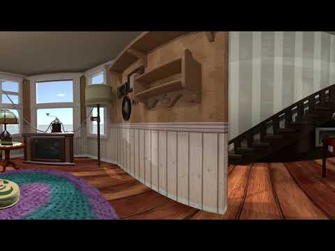The Unforgettable Cinematic Environment - Pixar's Up Living Room -Ambient