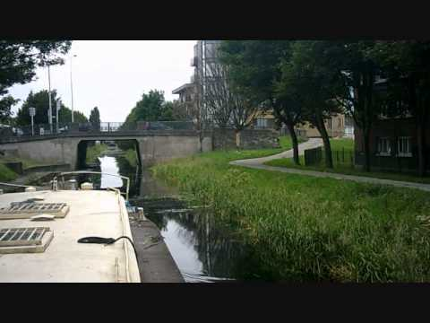 Grand Canal Dublin City by Barge 1 of 2