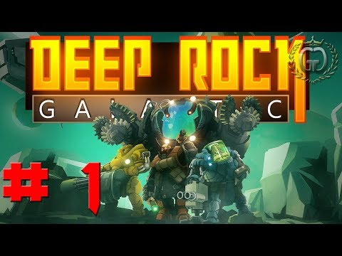 Deep Rock Galactic Folge: 1 Let´s Test.  Alpha Test.