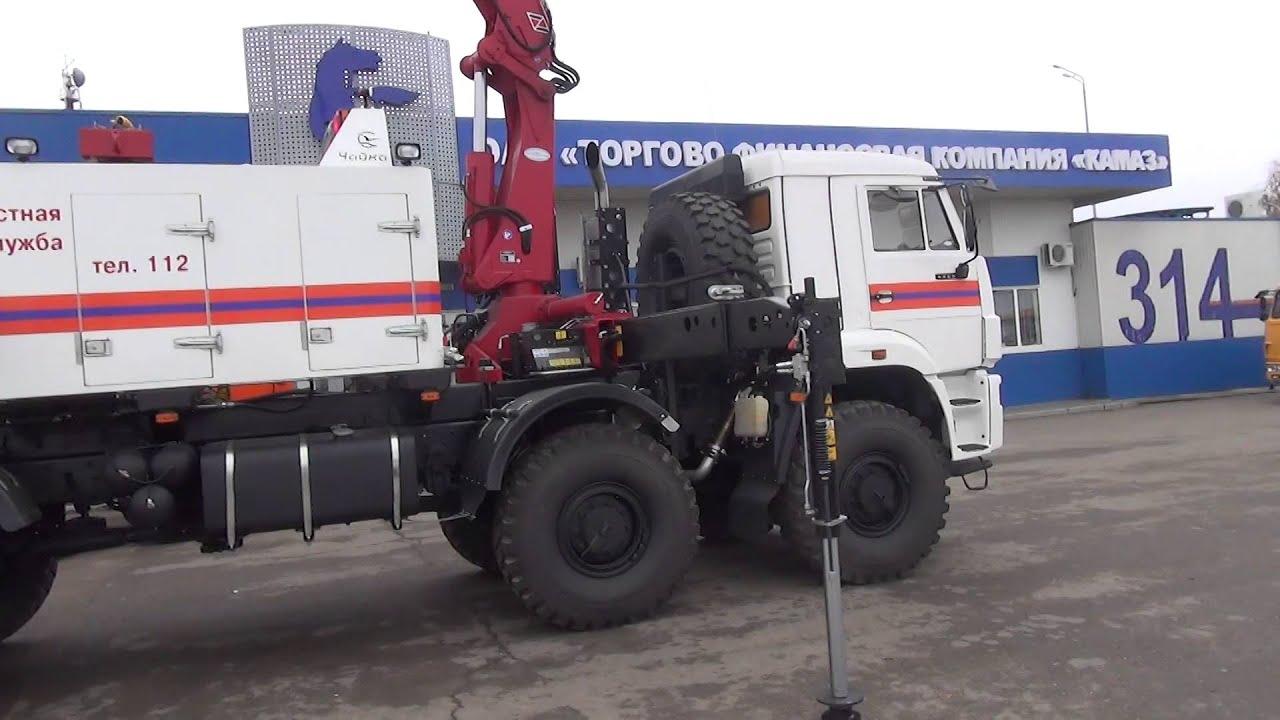 Спецтехника на шасси КАМАЗ для Министерства Чрезвычайных Ситуаций
