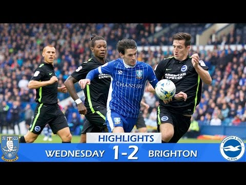 Sheffield Wednesday 1 Brighton & Hove Albion 2 | Extended highlights | 2016/17