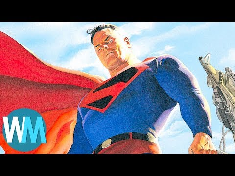 Top 10 Times Superman Was a D*ck