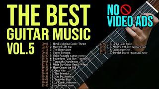 (No Vid Ads) 1 Hour Guitar Playlist - Vol.5
