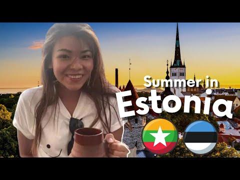 A summer day in Tallinn💦 🇪🇪