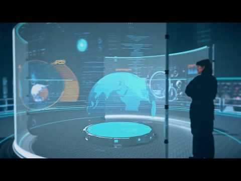 BAE Systems future operations room concept