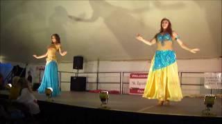 anna mar del sur and phoenix belly dance duet brazilian pearls usa