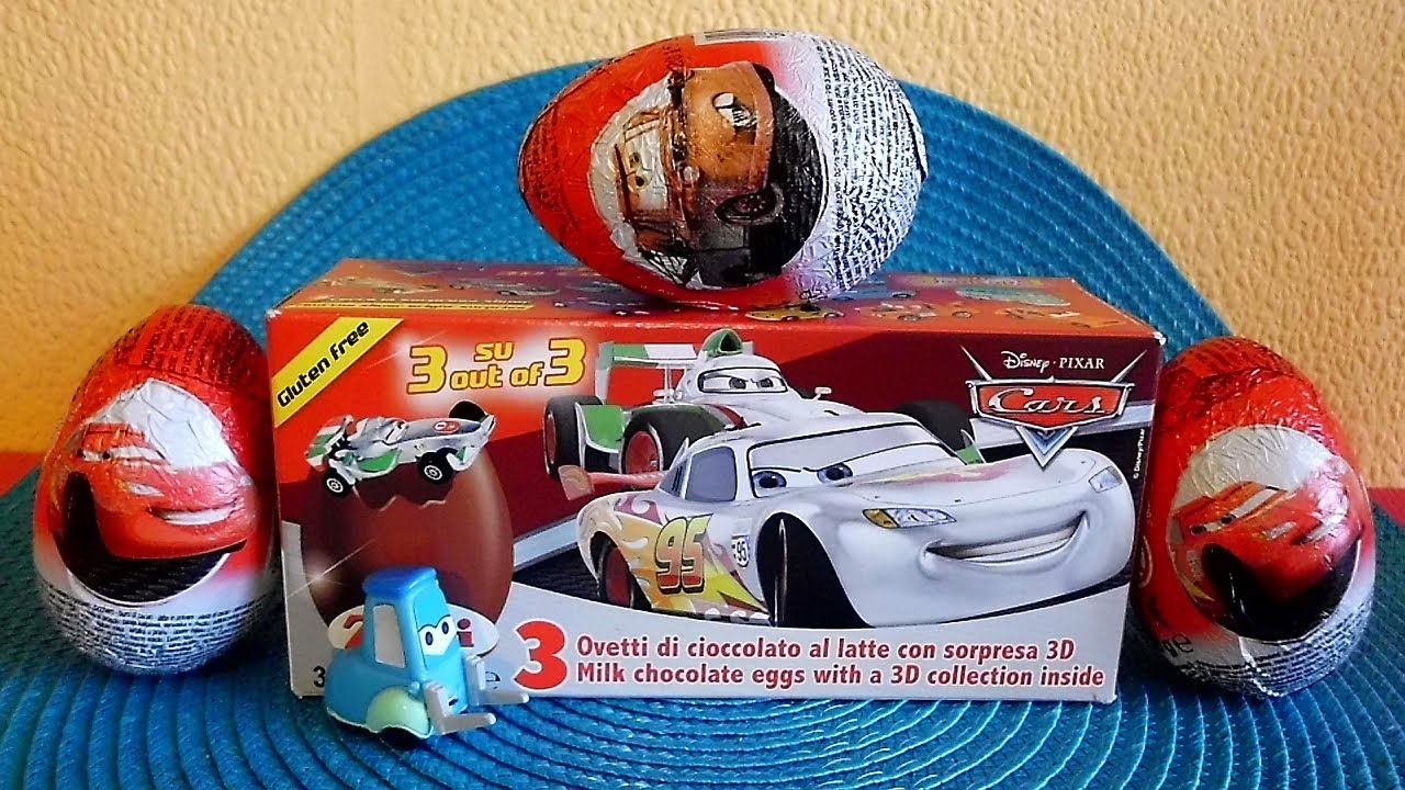 Cars 9 Surprise Easter Eggs Special Edition 3 D Toys