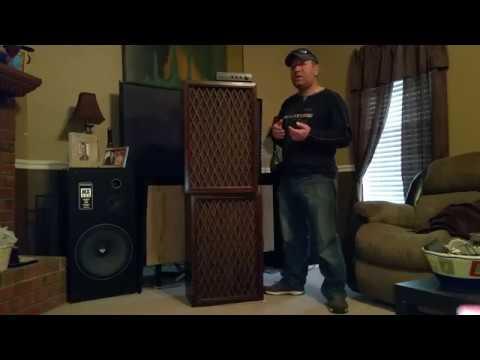 2 reviews in one video. Pioneer CS-63DX speakers & Realistic SA-155 amplifier.