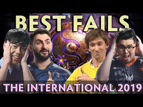 Best FAILS and FUN moments of The International 2019