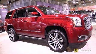 2018 GMC Yukon Denali - Exterior and Interior Walkaround - 2018 New York Auto Show