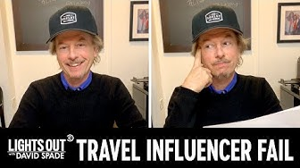 David Spade Is Staying Inside and Roasting Travel Influencers - Lights Out with David Spade
