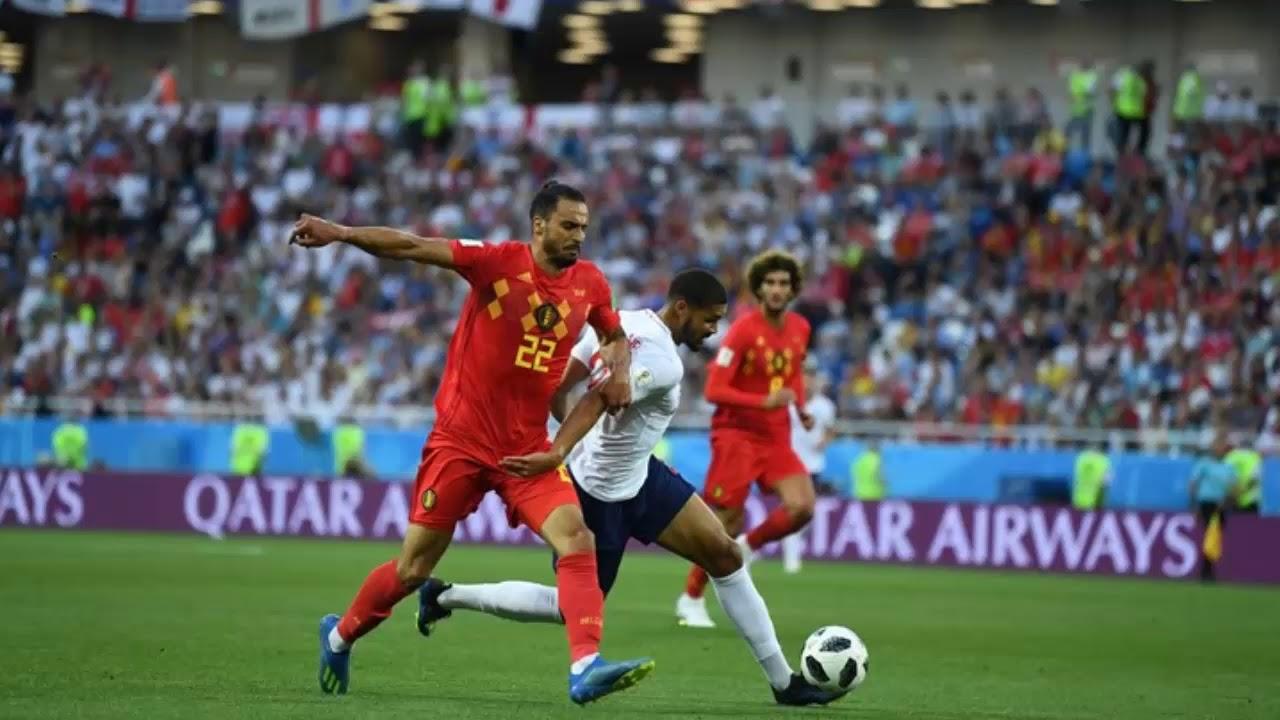 Parade Foto Inggris Vs Belgia Penyishan Grup Piala Dunia 2018