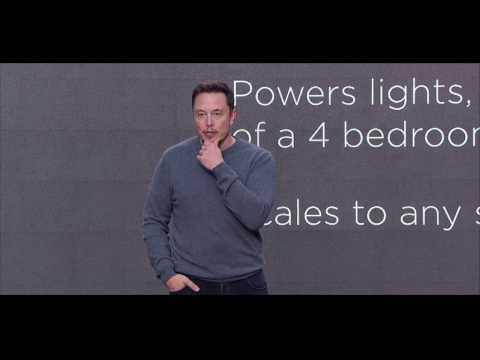 Tesla Solar Roof & Powerwall 2.0