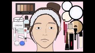 여신강림 급 변화/화장하기 스톱모션/메이크업 스톱모션/Make up Stop Motion