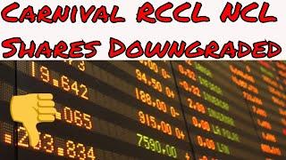 Carnival Royal Caribbean Norwegian Stocks Fall After Morgan Stanley 2019 Profit Warning