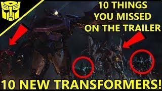 Transformers Bumblebee (2018)  Breakdown 10 Things you missed - Trailer#2
